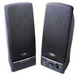 Cyber Acoustics CA-2012RB 2.0 Speaker System - 4 W RMS - Black CA-2012RB