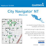 Garmin City Select, Mexico NT Digital Map