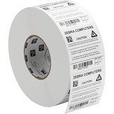 Zebra Label Polyester 3 x 1in Thermal Transfer Zebra Z-Ultimate 4000T High-Tack 1 in core 10002630