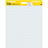 Post-it Self-Stick Easel Pads, 25 in x 30 in, White with Faint Grid