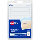 Avery Filing Labels - 5202