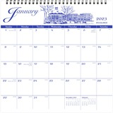 At-A-Glance Illustrated Monthly Wall Calendar - G100017