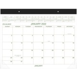 At-A-Glance Recycled 2-Color Desk Pad Calendar