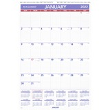 AAGPM428 - At-A-Glance Wall Calendar with Hanger