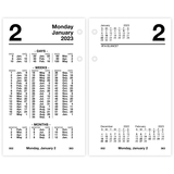 At-A-Glance Financial Loose-Leaf Desk Calendar Refill
