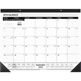 At-A-Glance Nonrefillable 16-Month Desk Pad Calendar SK2416-00