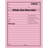 Adams While You Were Out Message Pad