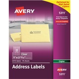 Avery Clear Mailing Label