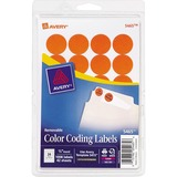 Avery Round Color Coding Label - 05465