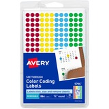 AVE05796 - Avery See Through Round Color Coding Label
