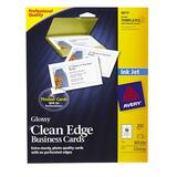 8879 - Avery InkJet Clean Edge Business Card