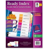 AVE11186 - Avery Ready Index Table of Contents Reference D...
