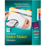Avery Index Maker Multicolor Label Divider