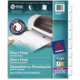 Avery Direct Print Custom Laser Dividers - 11537