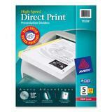 Avery Direct Print High Speed Presentation Dividers
