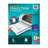 Avery Direct Print Custom Laser Printer Dividers - 11568