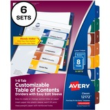 12172 - Avery Easy Edit Index Divider