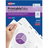 Avery Printable Self-Adhesive Tab 16282