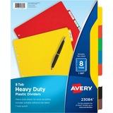 Avery Plastic Tab Divider 23084