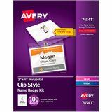 AVE74541 - Avery Laser, Inkjet Print Laser/Inkjet Badg...