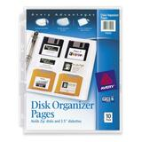 Avery Disk Organizer Pages