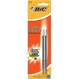 BIC Clear Clic Wide Body/Velocity Pen Refills - Medium Point - Blue For Bic Ballpoint Pen 2 / Pack