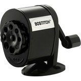 Bostitch Manual Pencil Sharpener - Desktop - 8 Hole(s) - Metal - Black - BOSMPS1BLK