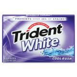 Cadbury Trident White Cool Rush Gum