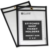 C-line Stitched Plastic Shop Ticket Holder 46058