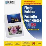 C-Line 3-Hole Polypropylene Photo Protector