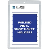 C-line Vinyl Shop Seal Ticket Holder