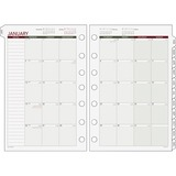 Day Runner Express 068-685Y Month-In-View Dated Calendar Refill