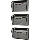 Rolodex Expressions Mesh 3-Pack Hanging Wall File - 21961