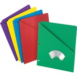 Pendaflex Essentials Slash Pocket Folder