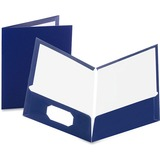 Oxford Laminated Twin Pocket Folders