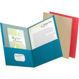 Esselte EarthWise Recycled Twin Pocket Portfolio - 78513