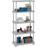 Iceberg 5-Shelf Open Storage System