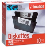 Imation 3-1/2 DS-HD Formatted Diskettes