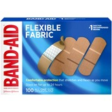 BAND-AID Flexible Fabric Adhesive Bandage - 4444
