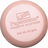 LEE Papercreme Fingertip Moistener - Stainingless, Fragranced, Non-slip - 1.06oz - Pink