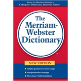 Merriam-Webster Paperback Dictionary Dictionary Printed Book - English
