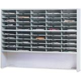 Mayline Kwik-File Mailflow-To-Go 2-Tier Sorter - SR6046RPG