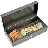 2212CBGY - MMF Steelmaster Cash Box with Lock