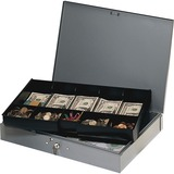 MMF Steelmaster Cash Box with Tray 2215CBTGY
