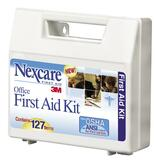 3M Nexcare Non-Medicated Office First Aid Kit - 100 Pieces For Up To 10 People - Plastic Case