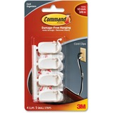 17301 - 3M Medium Cord Clips With Command Adhesive