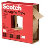 Scotch Natural-colored Kraft Packaging Tape - 1.5' Width x 60yd Length - 3' Core - Paper - 1 Roll - Tan