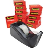 Scotch Premium Transparent Tape with Dispenser