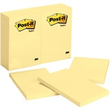 Post-it Notes, 4 in x 6 in, Canary Yellow