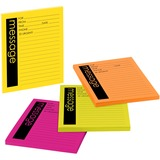 Post-it Neon Important Message Pad